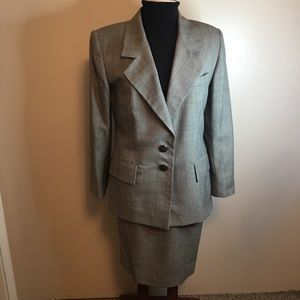 Emily Business Suit with Skirt and Blazer Size 10